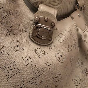 Louis Vuitton monogram perforated leather